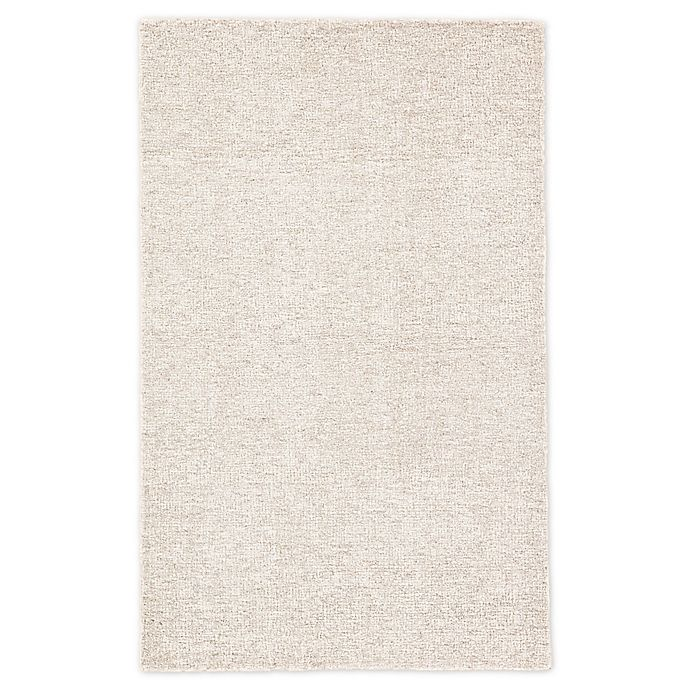 Alternate image 1 for Jaipur Oland Solid 8' x 10' Area Rug in Ivory