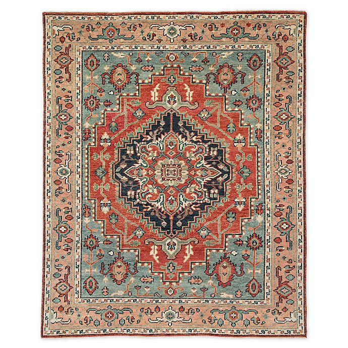 Alternate image 1 for Jaipur Medallion Indoor/Outdoor 8'6 x 11'6 Area Rug in Red