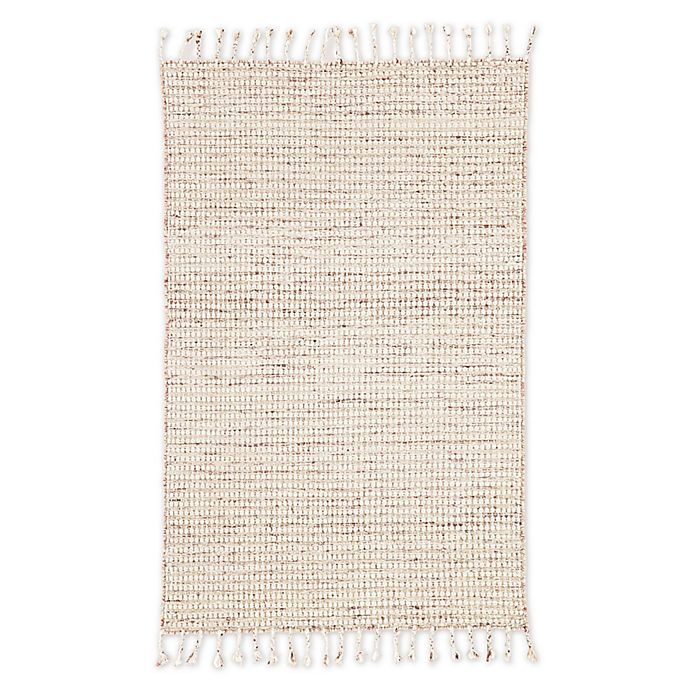Alternate image 1 for Jaipur Living Perkins Dot 8' x 11' Handcrafted Area Rug in Ivory