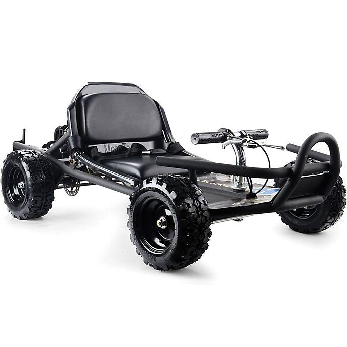 Alternate image 1 for MotoTec 49cc Sandman Go Kart in Black