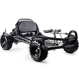 MotoTec 49cc Sandman Go Kart in Black