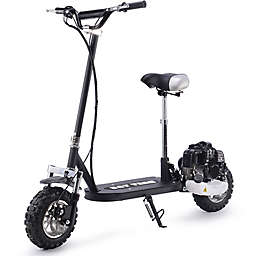 Say Yeah 49cc Gas Scooter in Black