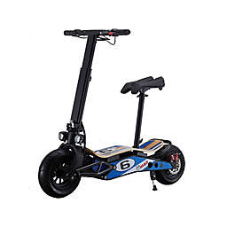 MotoTec Mini Mad 36-Volt Lithium Electric Scooter in Blue