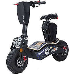 MotoTec Mad 48-Volt Electric Scooter in Blue