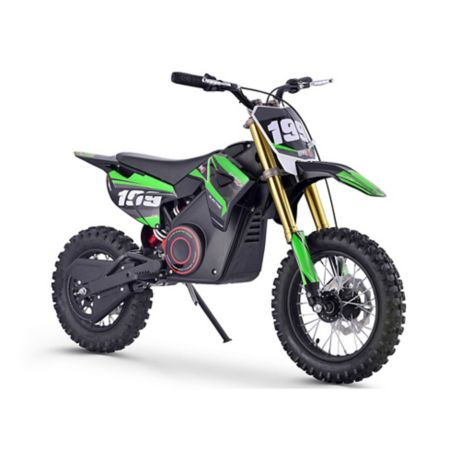 Mototec 36 Volt Pro Electric Dirt Bike In Green Bed Bath