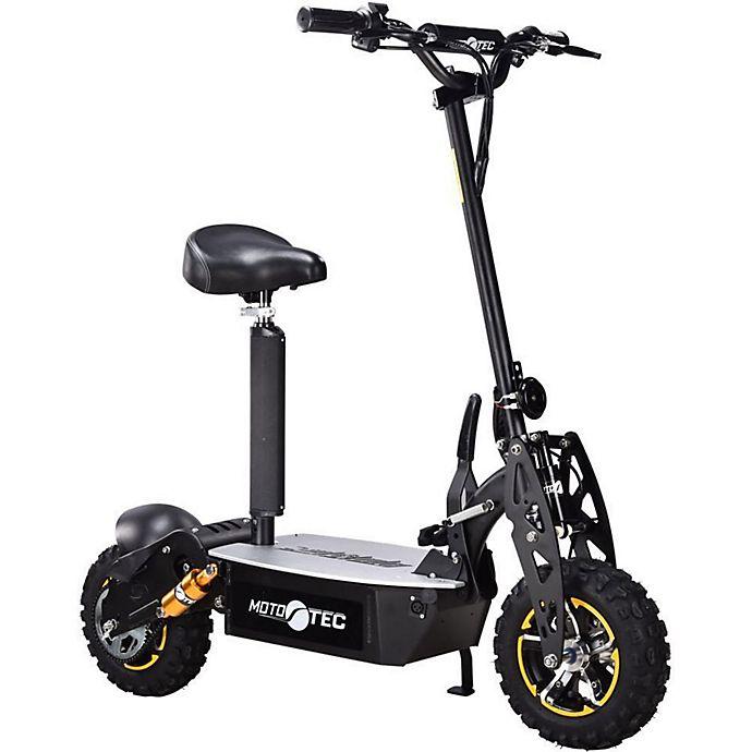 Alternate image 1 for MotoTec 48-Volt Electric Scooter in Black
