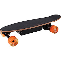 MotoTec 12-Volt Street Electric Skateboard in Black