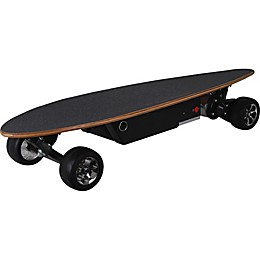 MotoTec 24-Volt Street Electric Skateboard in Black