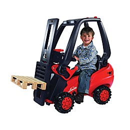 Linde Big Pedal Forklift Ride-On in Red