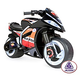Injusa 6-Volt Repsol Wind Electric Motorcycle Ride-On in Black