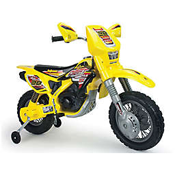 Injusa 12-Volt Motocross Thunder Max VX Electric Ride-On in Yellow