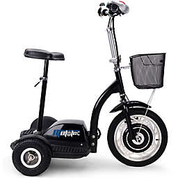 MotoTec 36-Volt 350-Watt Electric Trike in Black