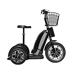 MotoTec 48-Volt 800-Watt Electric Trike in Black