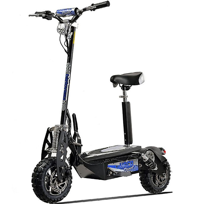 Alternate image 1 for UberScoot 48-Volt Electric Scooter by Evo Powerboards in Black