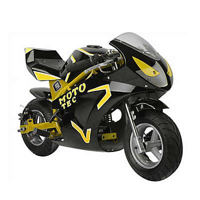 MotoTec GT 49cc 2-Stroke Gas-Powered Pocket Bike