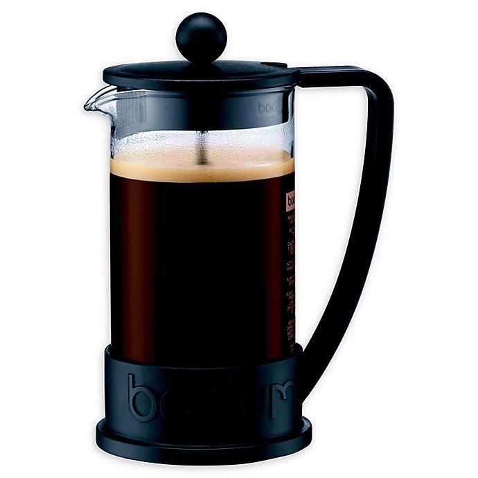 Alternate image 1 for Bodum® Brazil French Press Coffee Maker in Black