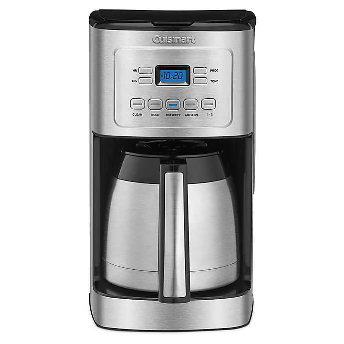 Alternate image 1 for Cuisinart® 12-Cup Thermal Stainless Steel Coffee Maker