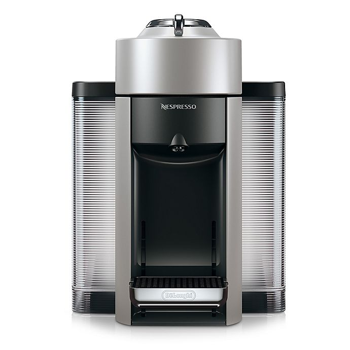 Alternate image 1 for Nespresso Vertuo by De'Longhi Coffee and Espresso Maker with Aeroccino Milk Frother in Silver