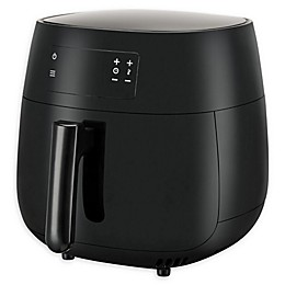 Emerald 1819 4.2 qt. Double Basket Air Fryer in Black
