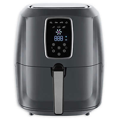 Emerald 1813 Extra Large Air Fryer in Grey