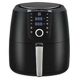 Emerald 1809 5.5 qt. Air Fryer in Black