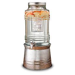 Breeze 2.4-Gallon Beverage Dispenser with Galvanized Base