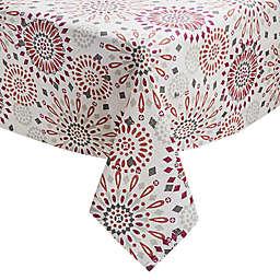 Veneta Medallion 60-Inch x 102-Inch Oblong Tablecloth