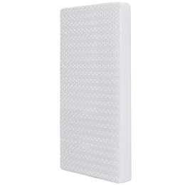 Dream On Me Breathable Foam Crib/Toddler Bed Mattress in White
