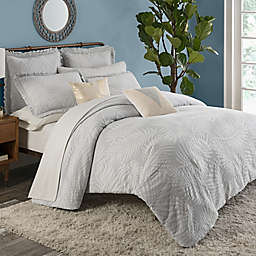 KAS ROOM Terrell Full/Queen Duvet Cover in Grey