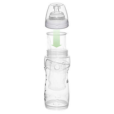 Playtex® 50-Count Drop-in Liners with 8 oz. Baby Bottle in Clear