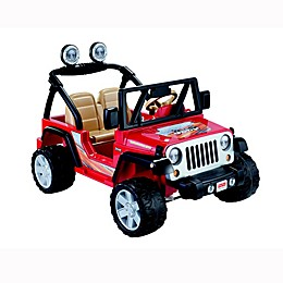 Fisher-Price® Power Wheels® Jeep® Wrangler