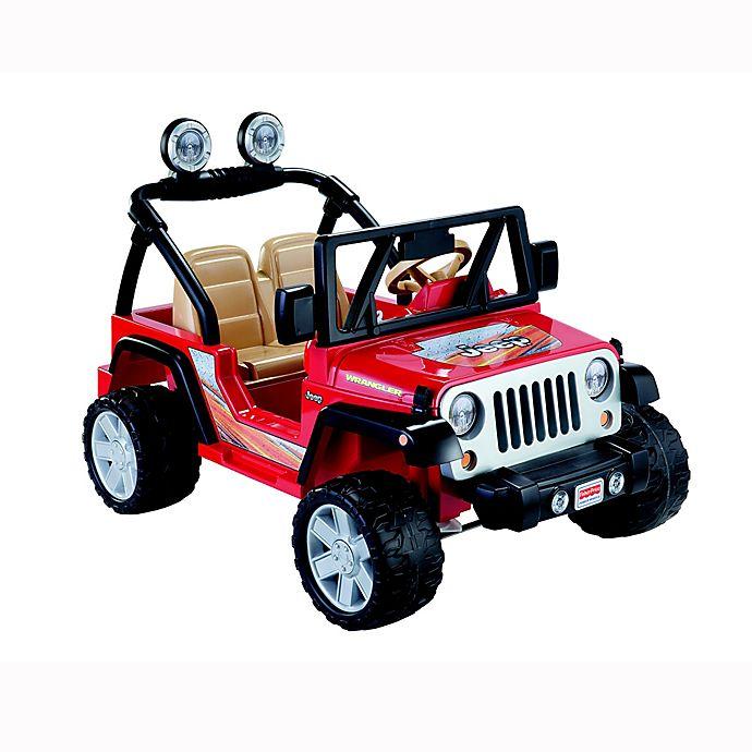 Alternate image 1 for Fisher-Price® Power Wheels® Jeep® Wrangler