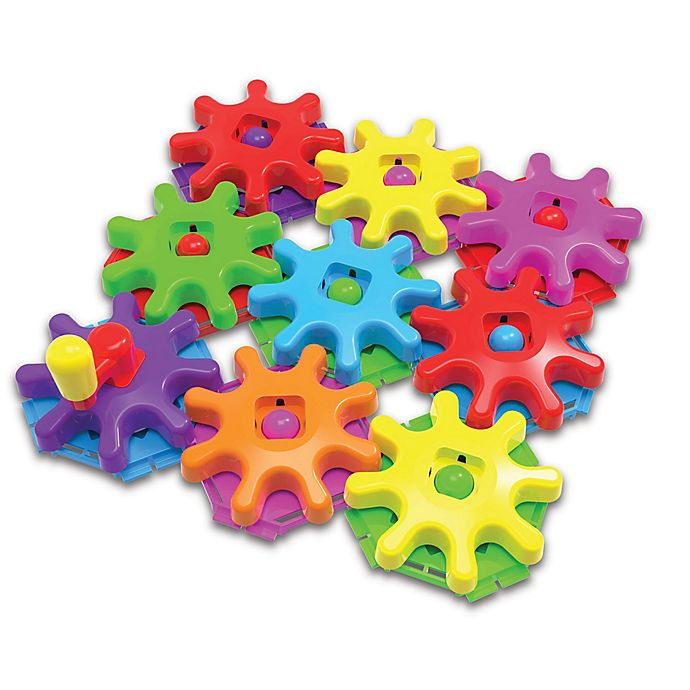 Alternate image 1 for The Learning Journey Techno Kids Stack & Spin Gears