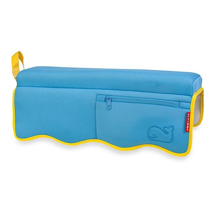Alternate image 1 for SKIP*HOP® Moby® Bathtub Elbow Rest in Blue