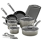 Rachael Ray™ Classic Brights Nonstick Hard Enamel 14-Piece Cookware Set in Grey