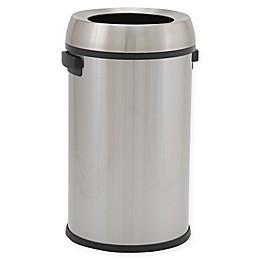 Design Trend®  Round Open Top Trash Can 17 Gallon -65 Liter