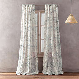 Peri Home Dayna Print Rod Pocket Window Curtain Panel