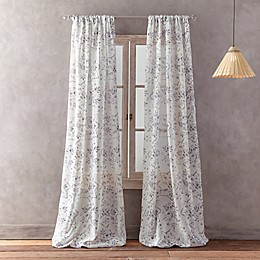 Peri Home Dayna Print Rod Pocket Window Curtain Panel