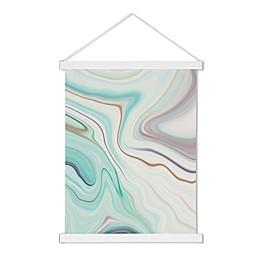 Uniek Abstract Scroll Multicolor Canvas Wall Art