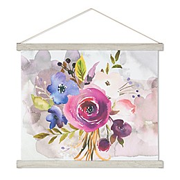 Colors for a Lovely Day 21.5-Inch x 17-Inch Scroll Canvas Wall Art