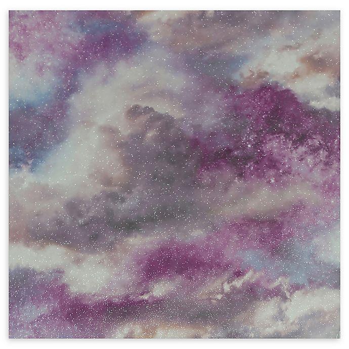 Alternate image 1 for Arthouse Diamond Galaxy Wallpaper in Purple/Blush