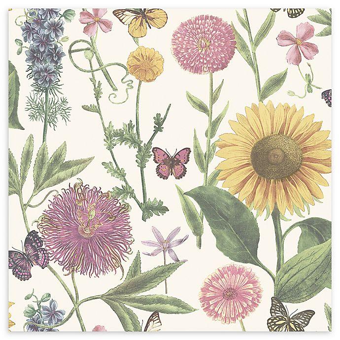 Arthouse Summer Garden Wallpaper Bed Bath Beyond