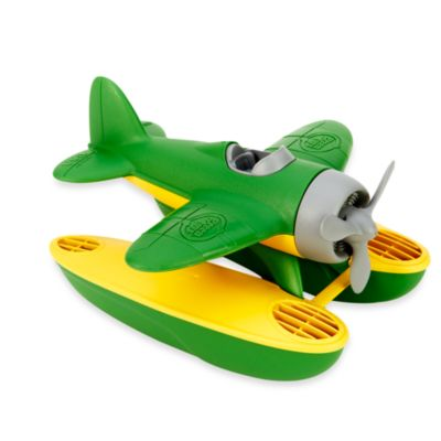 Green Toys Seaplane with Wings in Green