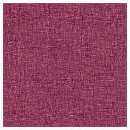 Arthouse Linen Textures Wallpaper in Raspberry