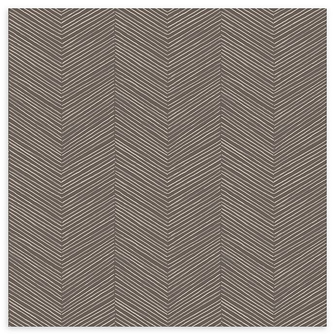 Alternate image 1 for Arthouse Arrow Weave Wallpaper in Cocoa