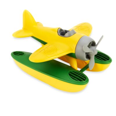 Green Toys Seaplane with Wings in Yellow