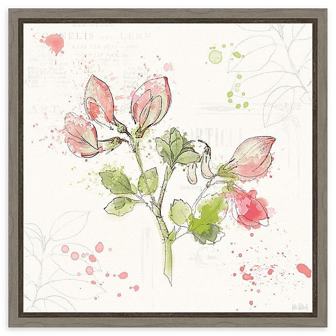 Alternate image 1 for Amanti Art Floral Splash II Framed Canvas Wall Art