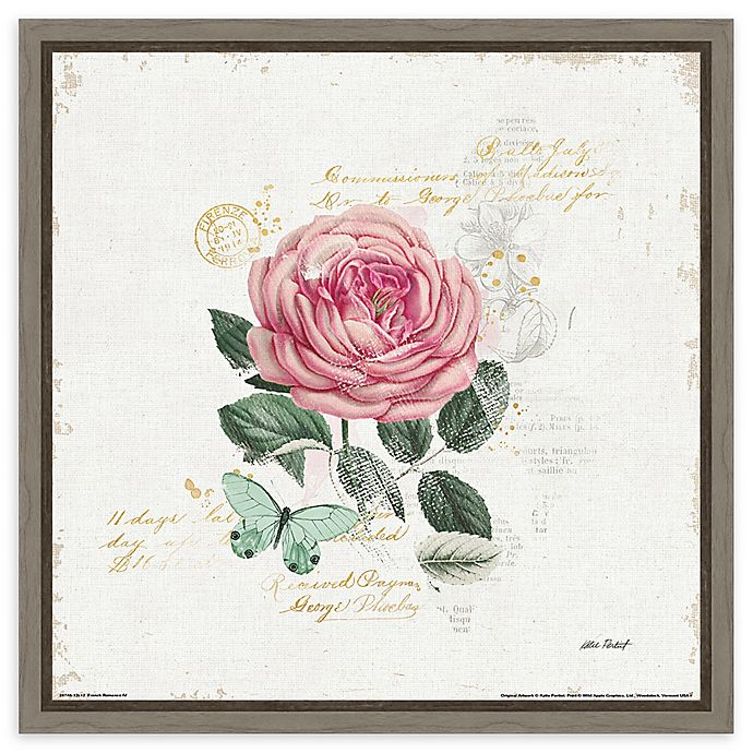 Alternate image 1 for Amanti Art French Romance IV Framed Canvas Wall Art