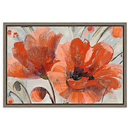 Amanti Art Popping by Albena Hristova 23-Inch x 16-Inch Framed Canvas Wall Art