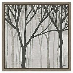 Amanti Art Spring Trees Greystone III Framed Canvas Wall Art